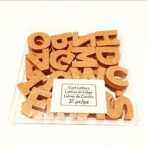 • NEW Cork Letters (1.5 inch) •